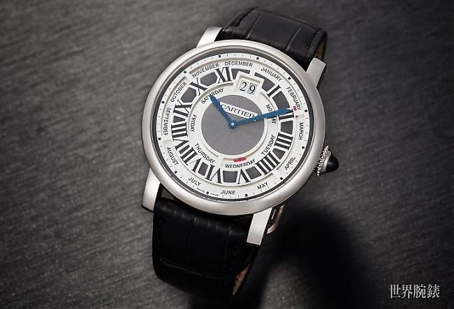 年历表新高度 卡地亚Rotonde de Cartier年历腕表;年历;Rotonde de Cartier;卡地亚;CARTIER