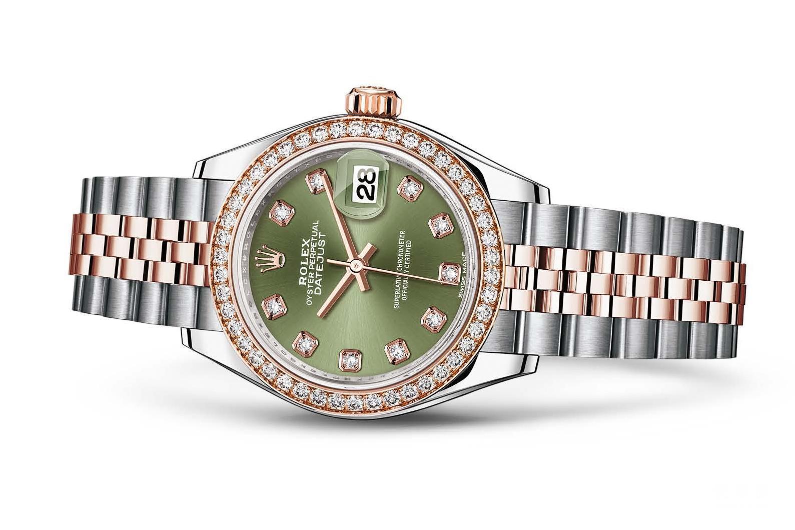 送给她的新年礼物--珠宝女表推荐