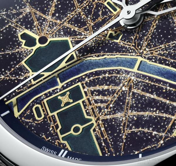 江诗丹顿全新艺术大师系列「光之城」腕表