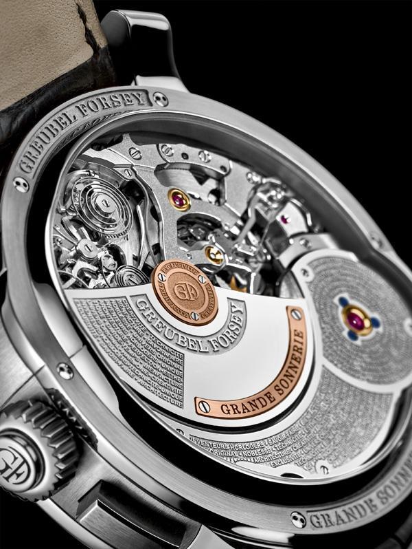 高珀富斯推出首枚Grand Sonnerie大自鸣腕表