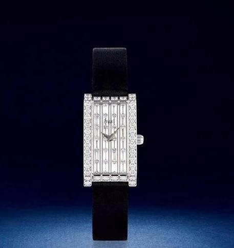 Lot 925 伯爵 18K白金 女款镶钻腕表 密镶钻满天星表盘 全新