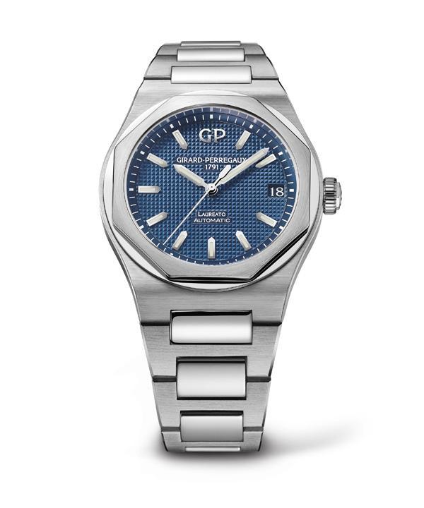 GP芝柏表推出全新Laureato腕表系列