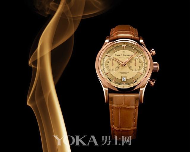 香槟色+玫瑰金 打造贵气十足的腕表就这么简单